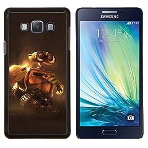 LECELL--Funda protectora / Cubierta / Piel For Samsung Galaxy A7 A7000 -- WALL • E ROBOT DE LA LONA --