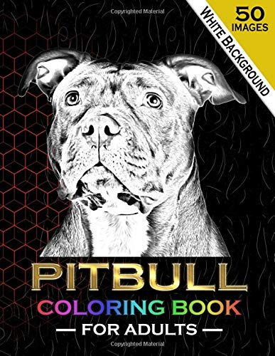 amazon com pitbull coloring book for adults 50 beautiful realistic drawings pitbull dog coloring pages for adults relaxation 8 5 x 11 in 9798617266582 design sbep books amazon com pitbull coloring book for