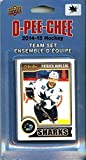 San Jose Sharks 2014 2015 O Pee Chee NHL Hockey Brand New Factory Sealed 17 Card Licensed Team Set Made By Upper Deck Including Joe Thornton, Patrick Marleau, Logan Couture and Others