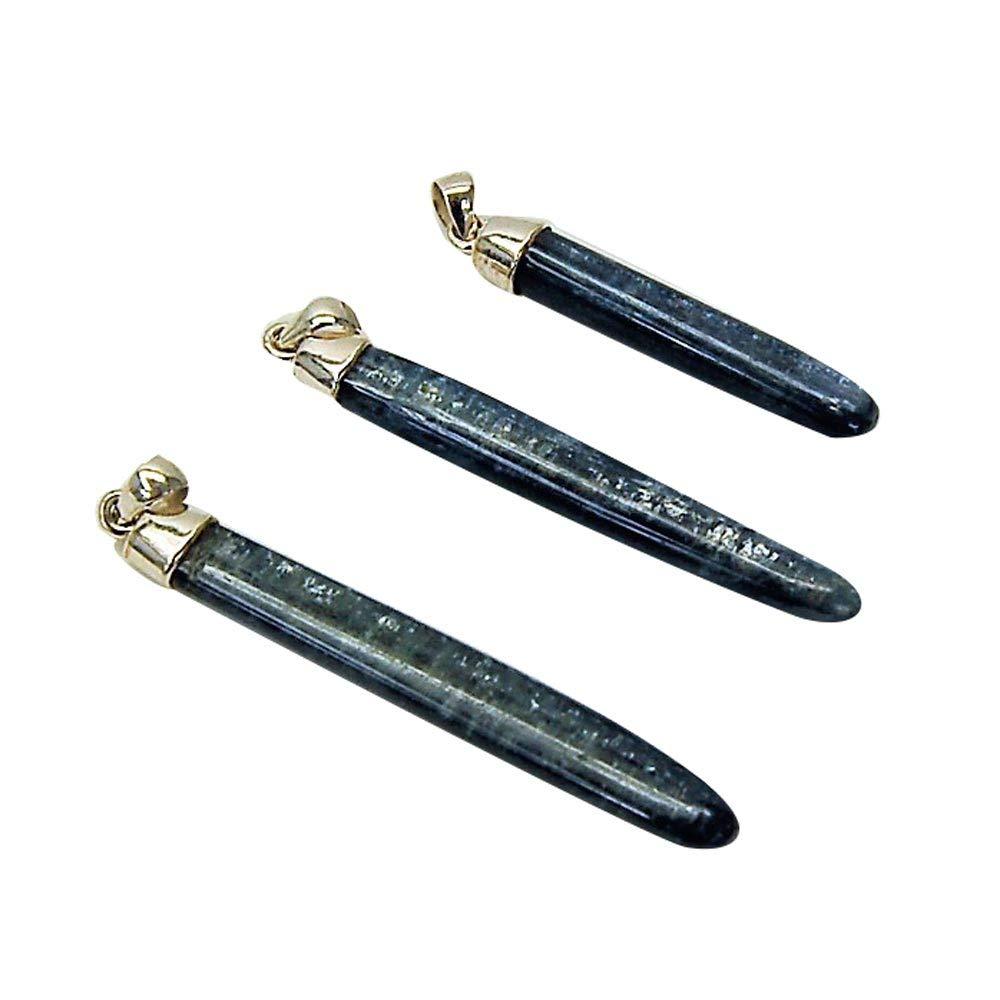 "Blue Kyanite Wand Pendant (India) (1-1/2"" - 2-1/2"") - 1 pc."