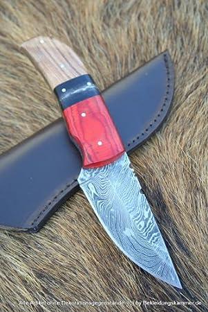 Fácil de acero de Damasco cuchillo de Damasco acabado de ...