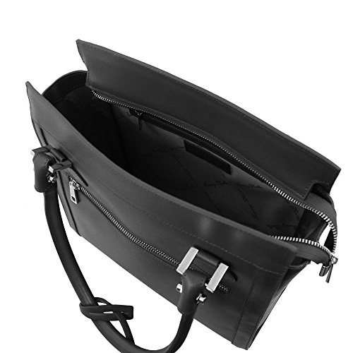 Tuscany Leather TL141644, Borsa a spalla donna Bianco bianco compact