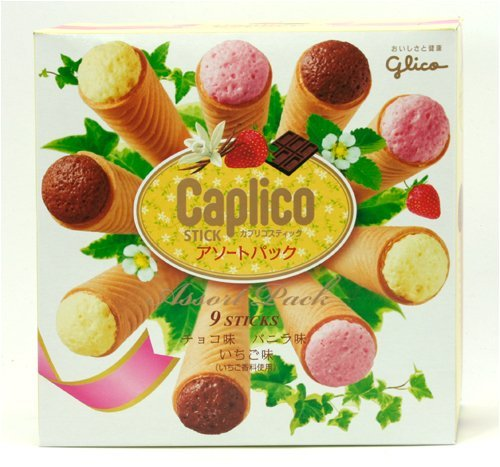 Glico Caplico Stick Assort Pack (9 Sticks)