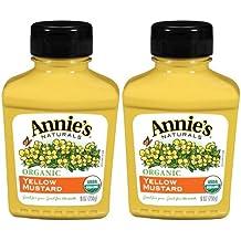Annie's Homegrown Organic Yellow Mustard, 9 oz, 2 pk