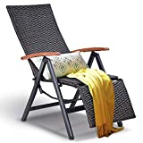 Vintage Folding Wooden Chairs for Sale Hulaloveshop Garden Folding Rattan Aluminum Recliner Chair
