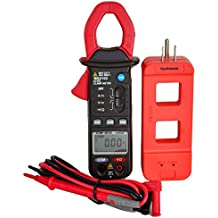 Mastech MS2102  3 3/4 Digits High Resolution and Accuracy Auto-ranging AC/DC Clamp on Meter with A Tekpower High Quality Wire Splitter