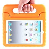 i-Blason ArmorBox Kido Series Light Weight Super Protection Convertable Stand Cover Case for Apple iPad 4 iPad 4G iPad 4th Generation iPad with Retina Display iPad 2, The New iPad 3 (Orange)