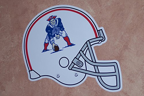 New England Patriots FATHEAD Classic Vintage Throwback Team Helmet Logo Official NFL Vinyl Wall Graphic 18