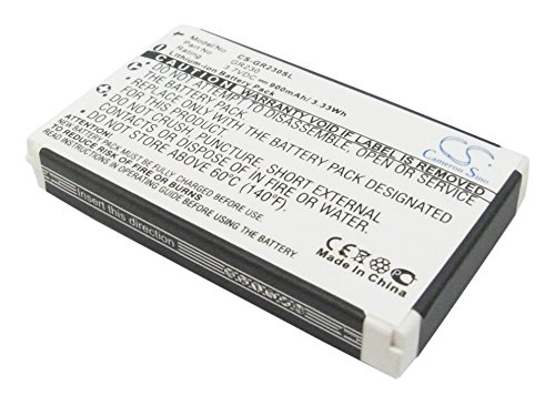 VINTRONS Battery fit to Holux GR-231 GPS Receiver Battery, GR-230