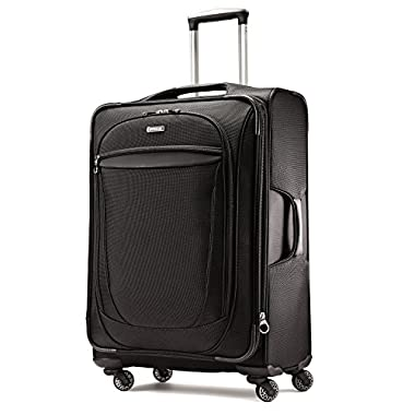 American Tourister XLT 25  Spinner Luggage Black