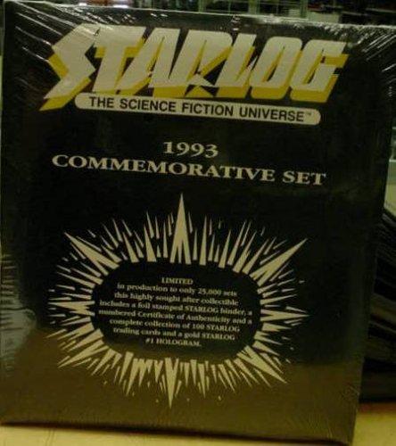 Starlog 1993 Commemorative Trading Card Set Limited B0013YV6UU