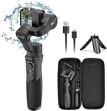 iSteady Pro2 2019 New Model Hohem Water Splash Proof GoPro Gimbal Handheld Stabilizer for Action Camera Gimble for DJI Osmo Action,GoPro Hero 7//6//5//4//3,SJCam,YI 4K Action Camera