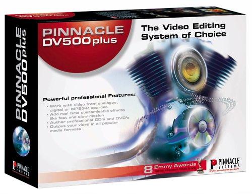 Pinnacle systems dv500 1394