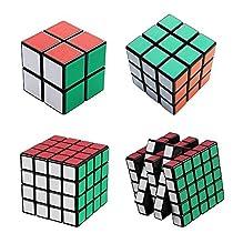 merlot Cube スピードキューブ 立体パズル セット 2から5まで 競...