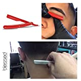 Blessed-by-Papito-Exposed-Straight-Edge-Razor-Professional-Barber-Saftey-Razor-95-inch-Premium-Barbershop-Folding-Straight-Razor-Close-Straight-Edge-Shaving-Razor