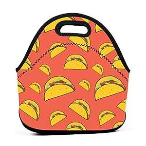 Borsa tote per pranzo kawaii messicana portatile in neoprene con cerniera con cerniera per ufficio scuola e scatola da… 11 spesavip