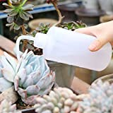 VISEMAN Watering Bottles Set - 5 PCS Gardening Self Irrigation Water Bottle Kit Including Watering Cans Spikes and Spray Bottle for Succulent Plant Flower