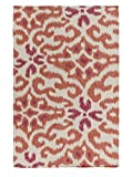 Surya Kate Spain MRS2011-3353 Hand Woven Casual Accent Rug, 3-Feet 3-Inch by 5-Feet 3-Inch, Multicolor