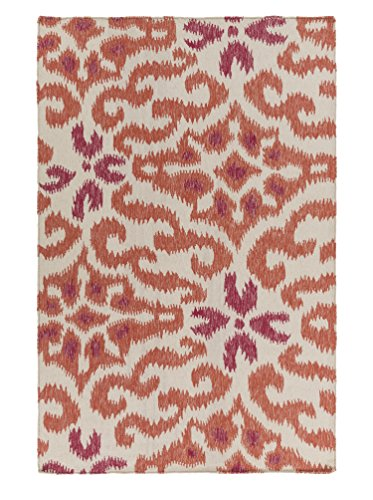 Surya Kate Spain MRS2011-3353 Hand Woven Casual Accent Rug, 3-Feet 3-Inch by 5-Feet 3-Inch, Multicolor by Surya