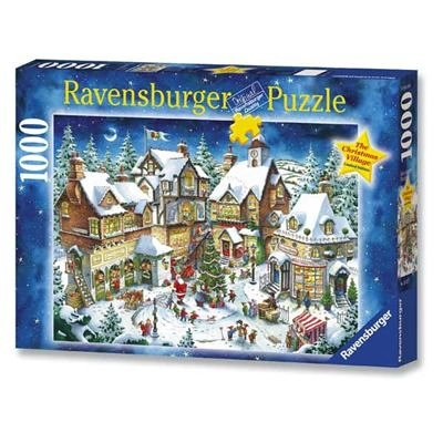 The Christmas Village 1000pc