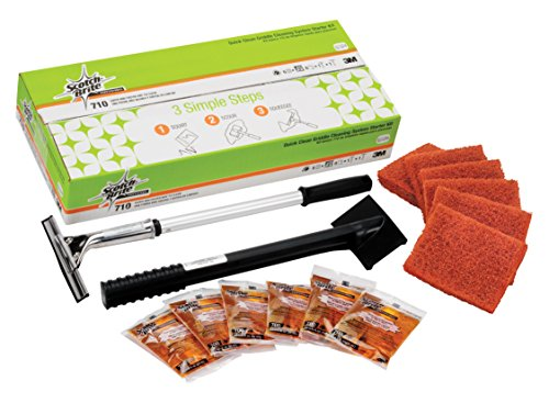 Scotch-Brite Quick Clean Griddle Cleaning System Starter Kit 710 ()