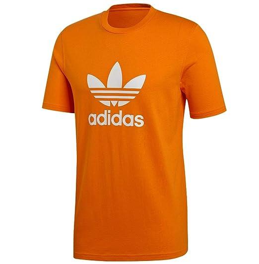 adidas orange t shirt