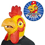 chicken beak mask - Chicken Head Yellow Latex Mask