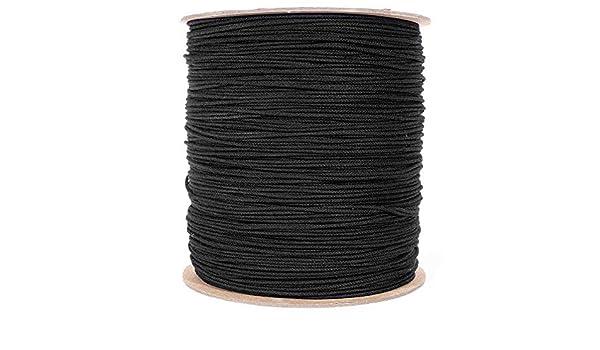 Corbata de algodón negro (sin esmalte - 1/8 pulgadas) - cuerda de ...