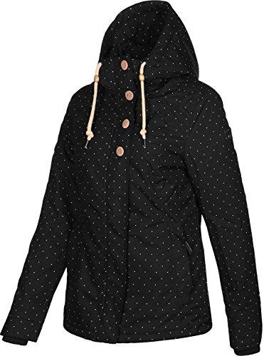 Ragwear Lynx d'hiver W Dots Schwarz veste Y8ROYq