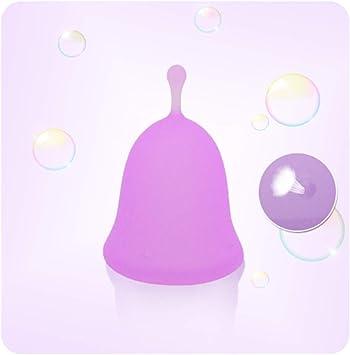 Médico sílice Copa Menstrual, reutilizable suave cómodo ...