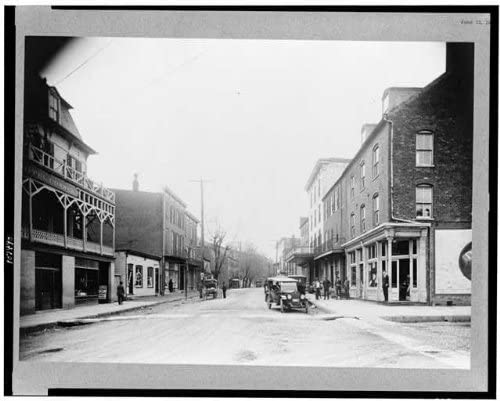 Harpers Ferry,Building,Commercial districts,Shenandoah Street,West Virginia,1920 HistoricalFindings Photo