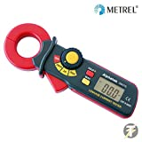 Metrel Alphatek TEK775 - AC, LCD Mini Earth Leakage Current Tester / Clamp Meter, 3 Ranges: 200 Milliamperes, 2 & 200 Amps by Metrel