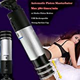 RLRY Latest Masturbator New Men Male Handsfree Auto Suck Smart Mastur/Bating Cup Dual use Vibration Sexy Cup Induced Vibrate Adult Toy for Men 3