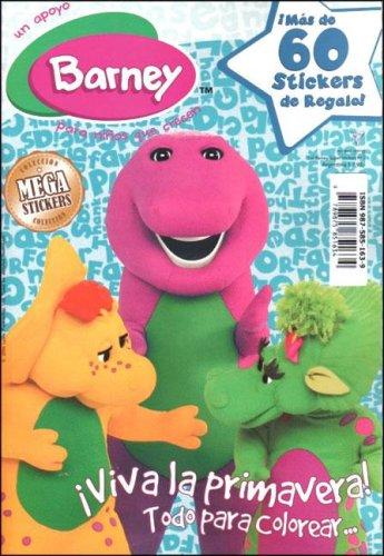 Barney Super Stickers N 2 - Viva La Primavera (Spanish Edition)