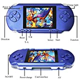Hometom 3.2'' 318 Games Built-In Portable Handheld Video Game Console Player (Purple)