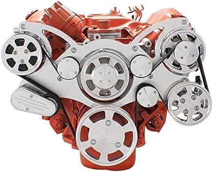 400 426 /& 440 V-Belt Big Block Chrysler Pulley Kit 383