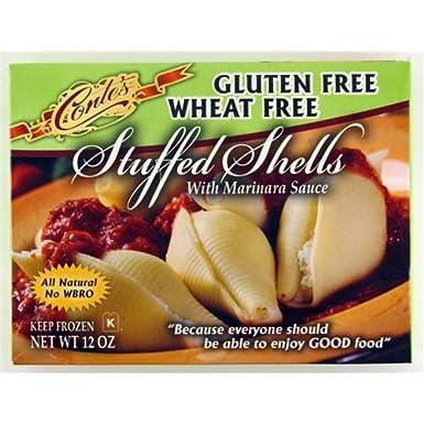Sin Gluten – Queso conchas de peluche w/Tom Salsa Meal Pasta ...