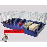 Heimtiercenter H1,20 m Hasenkäfig Nagerkäfig Kaninchenkäfig Käfig Stall Meerschweinchen +BONUS