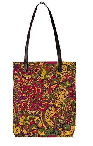Snoogg Strandtasche, mehrfarbig (mehrfarbig) - LTR-BL-5522-ToteBag