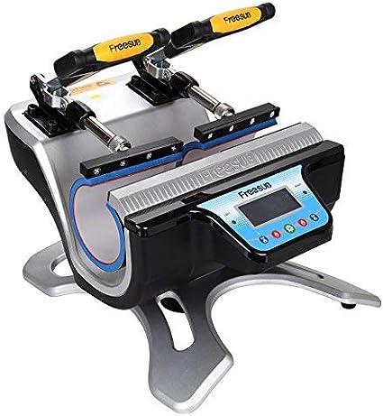 Ridgeyard Prensa de Calor Máquina de Sublimación con Tranferencia Automática de Doble Estación 2 Tazas Para la Impresión deTazas