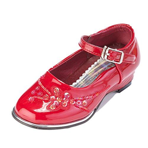 festlicher Lea Rot 33;Farbe Grössen Schuhe Mädchenschuh Onqvcx0qH