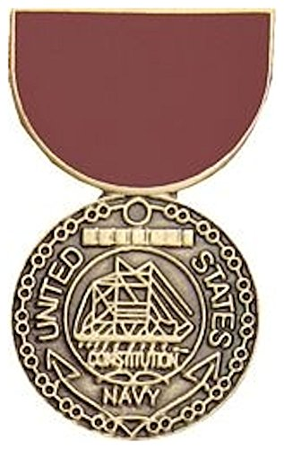 (Navy Good Conduct Mini Medal Small Pin )