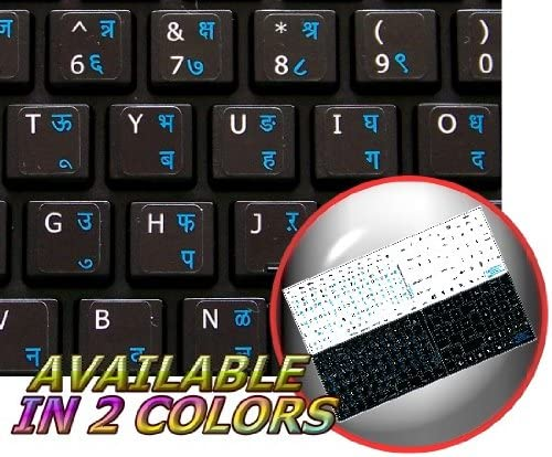 APPLE STICKER FOR KEYBOARD LEARNING ENGLISH US COLORED MAC