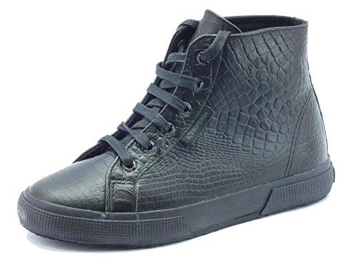 Superga Abotinadas 2095 Mujer Zapatillas plus Black Total 1r0wH1Kq