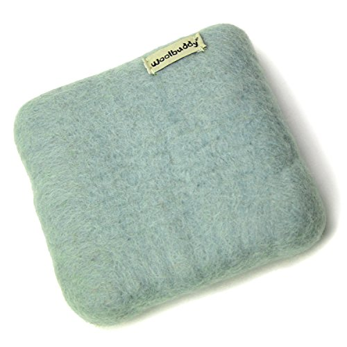 Woolbuddy Needle Felting 100% Woolen Mat (Light green)