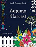 img - for Autumn Harvest: A Stress Relief Coloring Book with Garden Designs And Fall Scenery book / textbook / text book