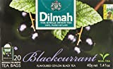 Dilmah, Fun Tea, Blackcurrant, Single Origin Pure Ceylon, 20 Count Individually Foil Enveloped Tea Bags, (Pack of 6) For Sale