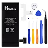 HOMSUM Replacement Battery for iPhone 4s, Full 1430 mAh 0 Cycle With Repair
