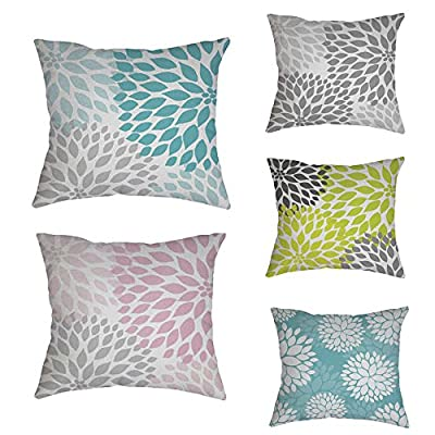 FORUU Throw Pillowcase, Cotton Linen Pillow Case Covers Sofa Waist Cushion Home Decor