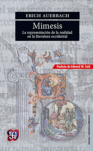 mimesis the representation of reality in western literature pdf